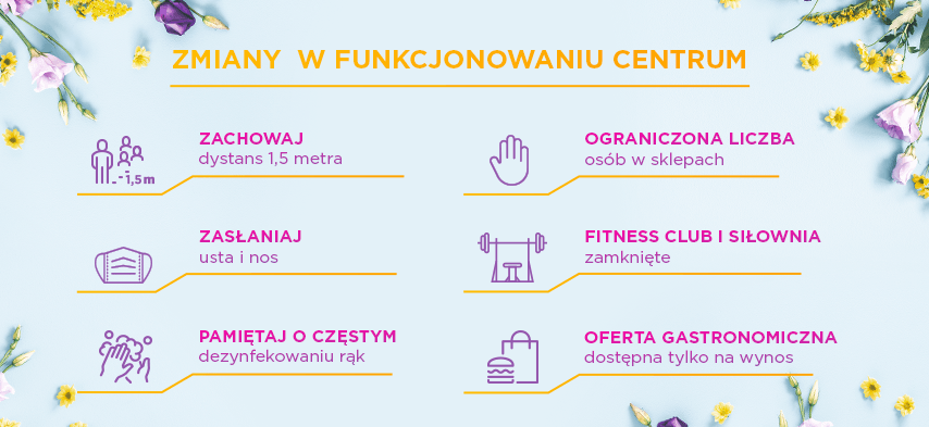 Nowe zasady funkcjonowania centrum